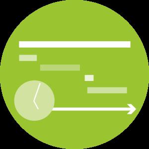 Schritt 5:: <br>Maßnahmen: Beste Ressourcenschonung - denn vom Team werden jetzt nur für die im vorhergehenden Schritt erkannten Prioritäts-Handlungsfelder realistische und umsetzbare Maßnahmen entwickelt.